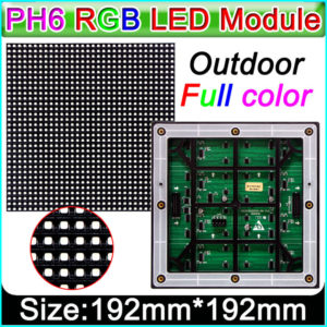 Multicolor LED Display Board