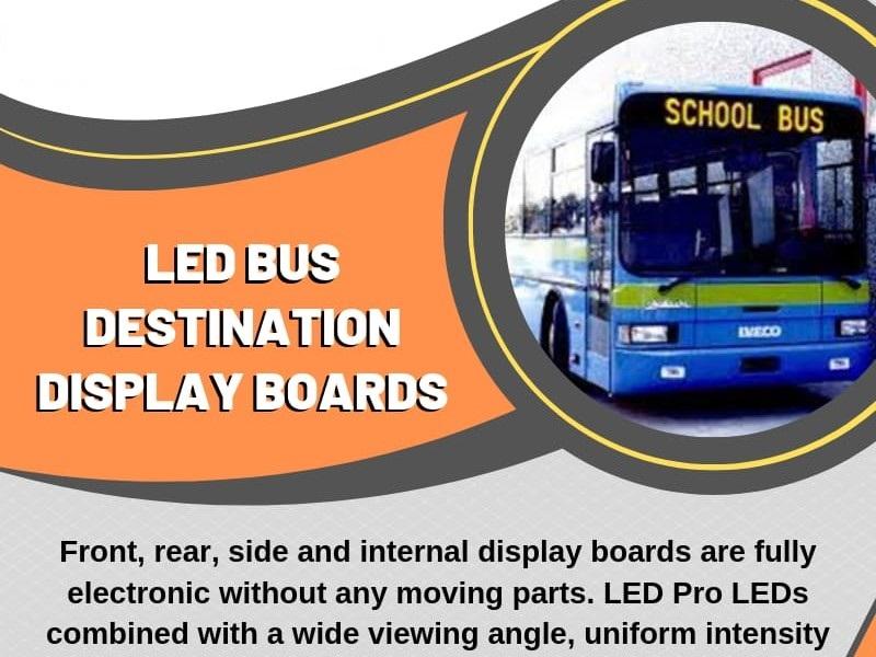 Led Bus Destination Display Board