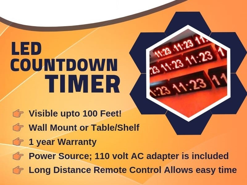 LED Countdown Timers