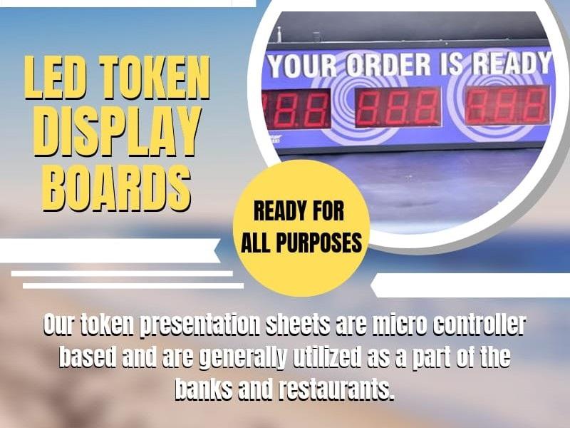 led token display